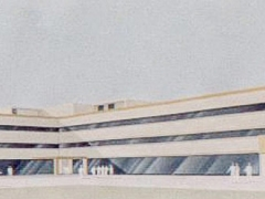 Prospettiva del progetto per il nuovo polo universitario di Bologna