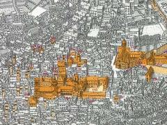 Veduta della città di Genova
