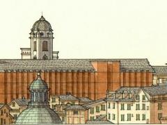 Veduta dei tetti di Genova