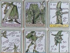 Piccolo gioco di ruolo di carte