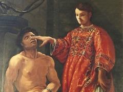 San Lorenzo ridona la vista ad un cieco