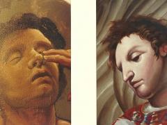 visi della pala San Lorenzo ridona la vista ad un cieco