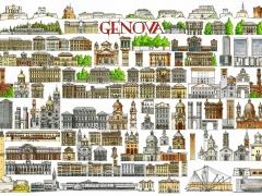 Genova-principali monumenti Guido Zibordi Marchesi