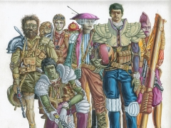 Gruppo di guerriglieri erranti