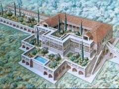 Ricostruzione di villa romana
