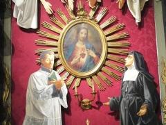 Altare del Sacro Cuore chiesa San Giovanni Battista Genova Quarto Guido Zibordi Marchesi