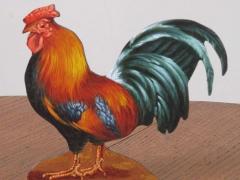 Guido Zibordi Marchesi presepe gallo
