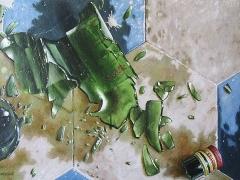 La bottiglia d'olio rotta Guido Zibordi Marchesi
