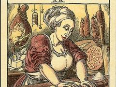 """La papessa (da """"I tarocchi della cucina"""")"""