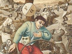 Bruegel - La ruota della fortuna
